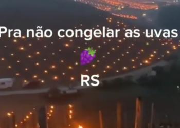 Print do vídeo. Procedimento do vídeo não está sendo feito no Rio Grande do Sul. Foto: Reprodução