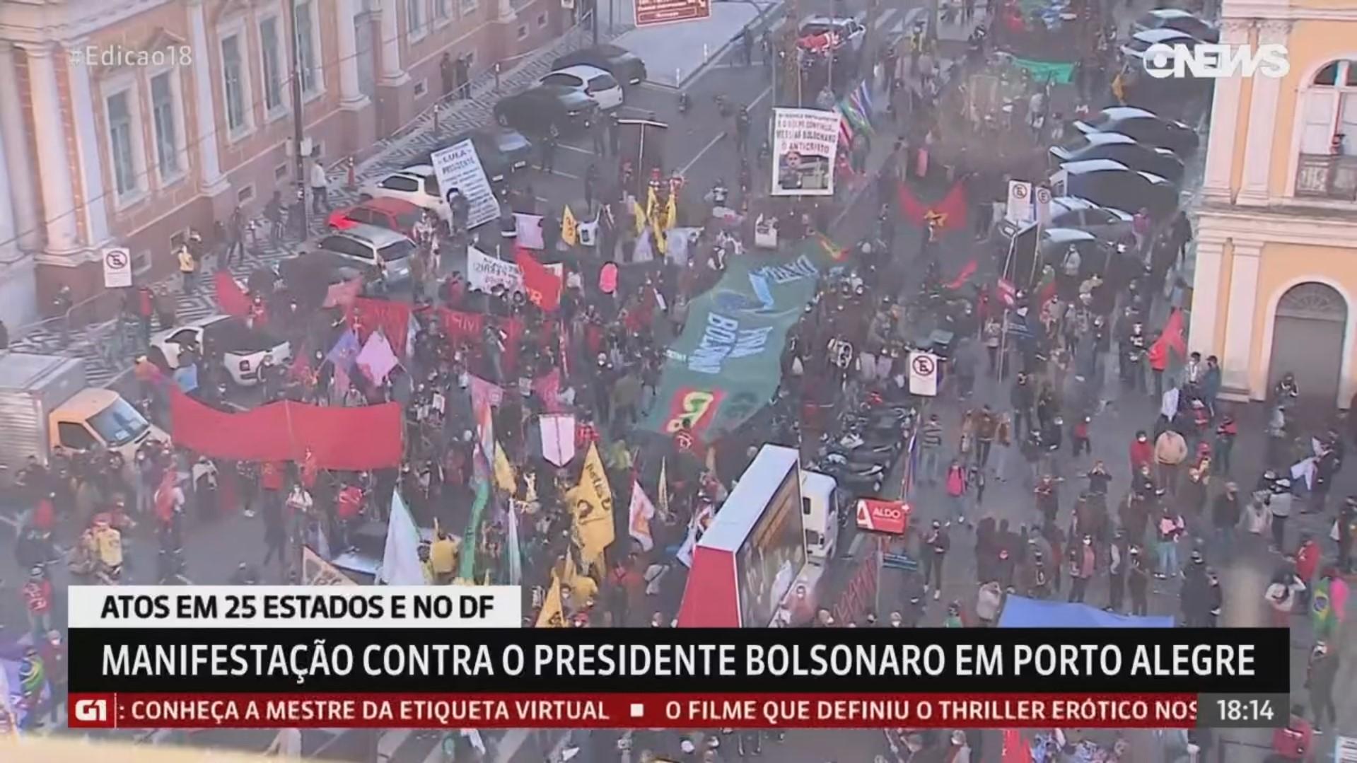 Foto: reprodução RBS TV / GloboNews
