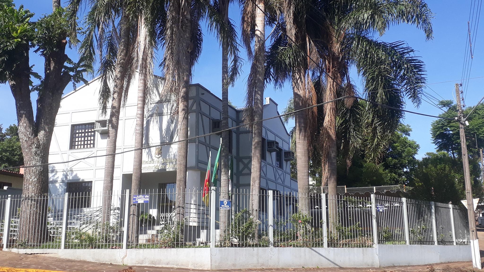 Promotoria de Justiça de Panambi. Foto: Ministério Público / Divulgação