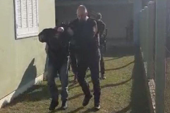 A casa do cativeiro ficava no Balneário de Arroio Teixeira. Foto: Divulgação/Polícia Civil
