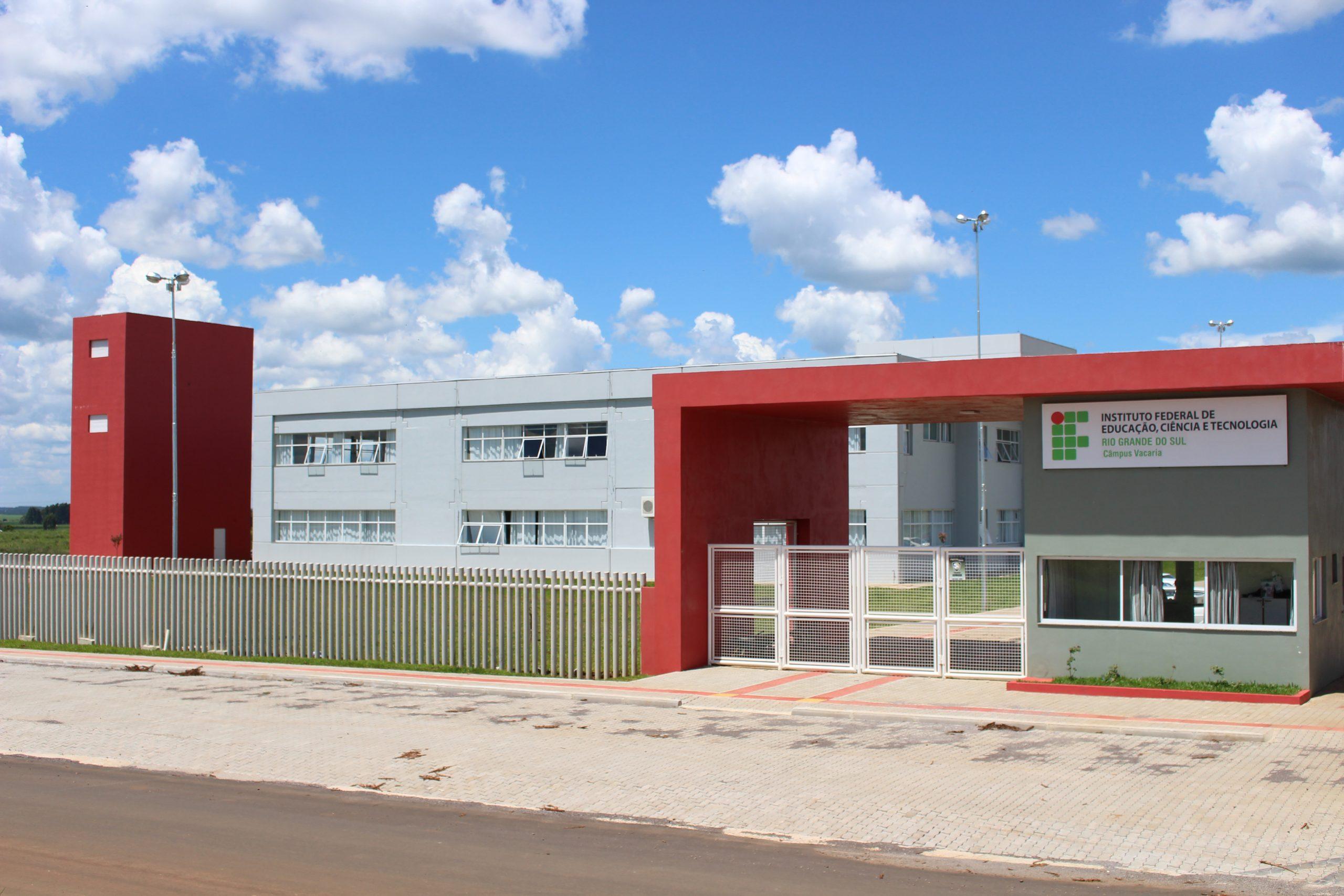 Campus Vacaria do IFRS. Foto: Francisco Galliano/Divulgação