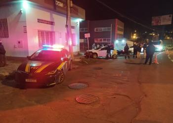 Imagem do acidente na BR-116 em Caxias do Sul. Foto: Divulgação/PRF
