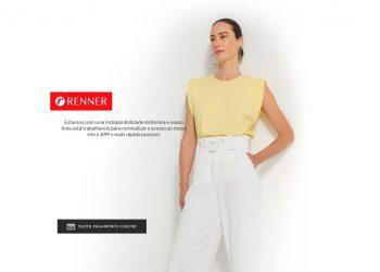 Foto: reprodução / site das Lojas Renner