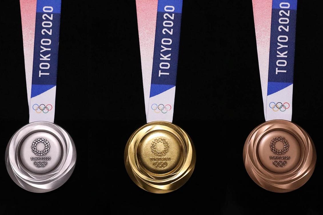 Medalhas dos Jogos de Tóquio. Foto: Tokyo 2020