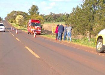 Veículo saiu da pista na altura do km 35 da rodovia. Foto: Divulgação/CRBM