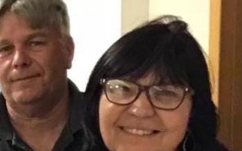 Sônia Oliveira e o marido, Ricardo Abreu. Crédito: Facebook