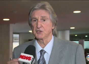 Cantor Sérgio Reis, quando ainda era deputado federal. Foto: reprodução / GloboNews, arquivo