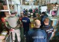 Na ação, os agentes fiscalizaram cinco estabelecimentos comerciais. Foto: Divulgação/MPRS